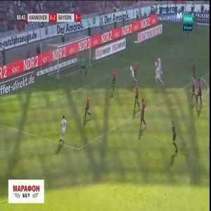 Sebastian Rudy Goal - Hannovre 0 vs 3 Bayern Munich