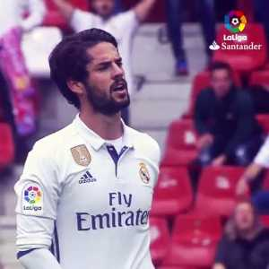 """""""Where the hell did he go? This is magic!"""" Great little video in celebration of Isco's 26th birthday."""