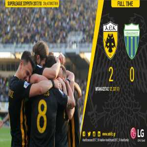 AEK Athens win the 2017-18 Superleague Greece for the first time in 24 years!
