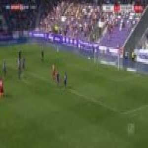 Aue 1-[3] Duisburg - Kevin Wolze penalty