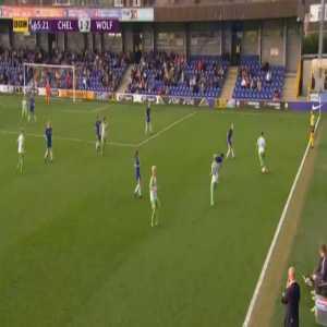 Chelsea LFC 1-[3] Wolfsburg Frauen Lara Dickenmann scissor kick