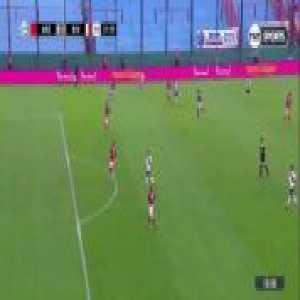 Exequiel Palacios goal. Arsenal (Sarandí) 0-[1] River Plate