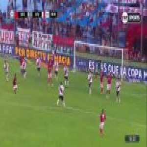 Juan Fernando Quintero goal. Arsenal (Sarandí) 0-[3] River Plate