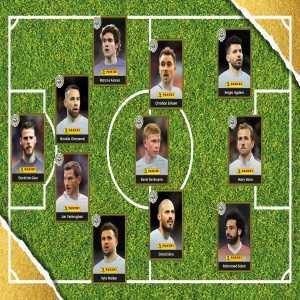 The PFA Premier League team of the year 2018
