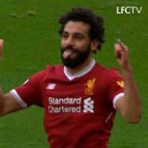 Just the 4th player to score 31 goals in a 38-match Premier League season...  How many Mo?  📽Liverpool FC