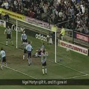 OnThisDay in 2000, Alan Shearer inspired Newcastle United to a gritty comeback against Leeds 😅