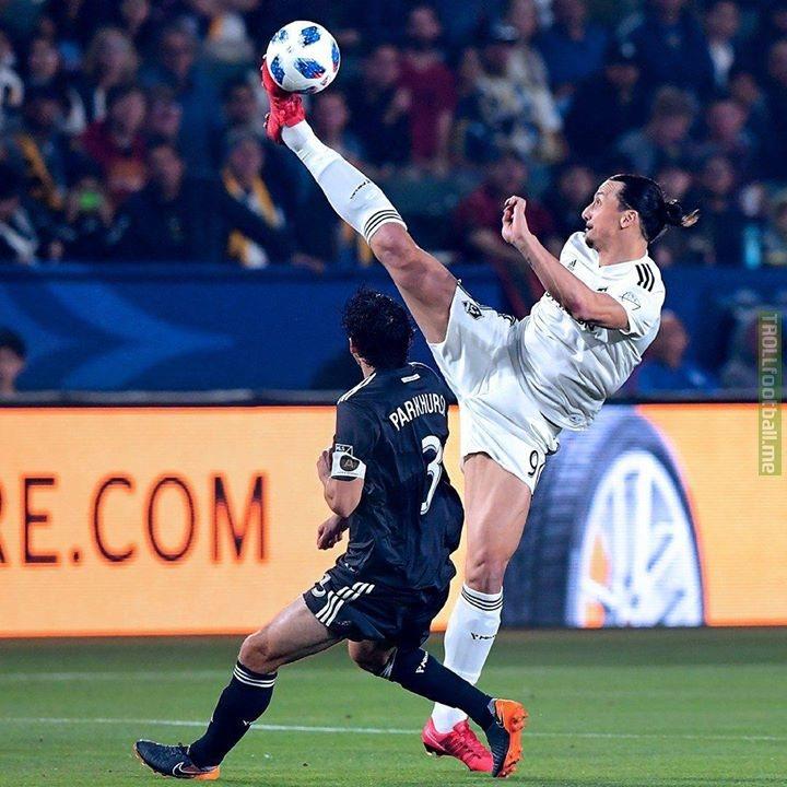 What even is Zlatan Ibrahimovic.