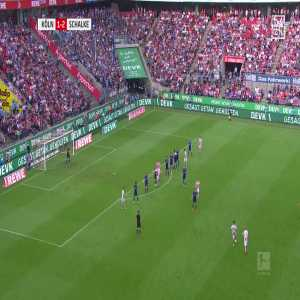 1. FC Kölns Marcel Risse with a stunning freekick to make it 2-2 vs Schalke last sunday. (great goal)