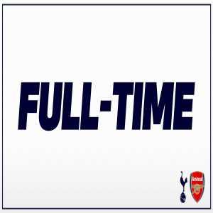 FT: Tottenham u18s 9-0 Arsenal u18s