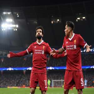 Messi & Neymar (2014/15), Firmino & Salah (2017/18). Liverpool become only the 2nd team in #UCL history to have 2 players score 10 or more goals in a single season. Mané is on 8