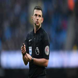 Michael Oliver to referee FA Cup final between Manchester United and Chelsea on May 19