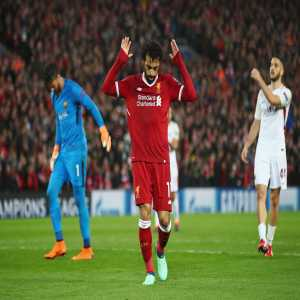 Mohamed Salah sets a new club record by becoming the 1st Liverpool player in history to score in 33 different games during a single campaign.