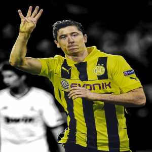 On this day 5 years ago (24 April 2013), Robert Lewandowski became the first player to score four goals in a single semifinal leg of the Champions League, against Real Madrid