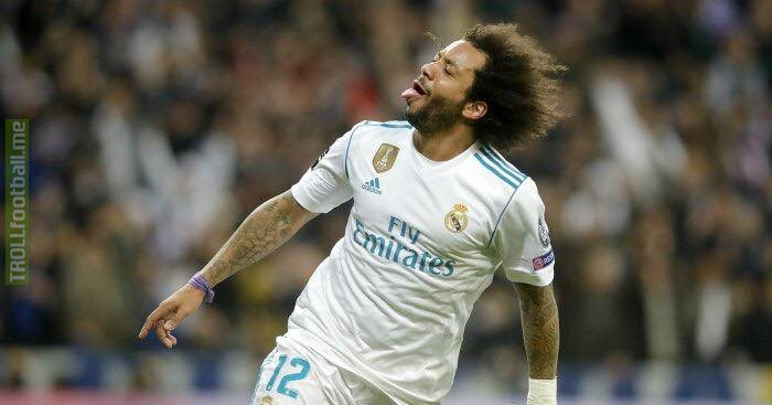 ⚽️ Goal against PSG ⚽️ Goal against Juventus ⚽️ Goal against Bayern Munich  🔥 Marcelo is a big game player.