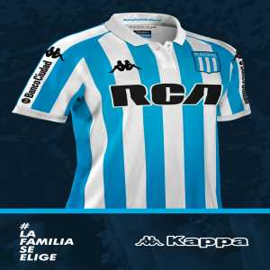 Racing kit supplier Kappa to give away one shirt for every goal scored in the next fixture against Vasco da Gama following 4:0 win against the Brazilian club in the Copa Libertadores