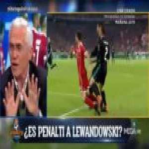 Carvajal second penalty shout vs. Bayern Munich