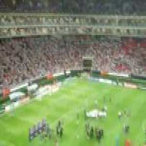 Chivas fans give Toronto a standing ovation after CCL Final.