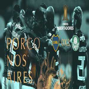 Palmeiras is qualified for the Copa Libertadores round of 16