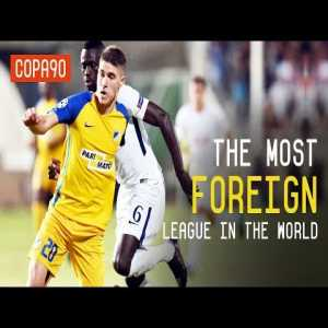 Copa90: The Most 'Foreign' League in the World- Cyprus
