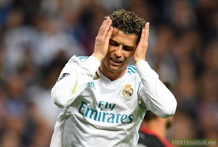Has Anyone Seen Cristiano Ronaldo Today?  He Was Last Seen, Sending The Ball Into The  AIR.  FINDINGCR7 😂😂