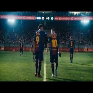 Messi vs Suarez: Gatorade Creative Ad