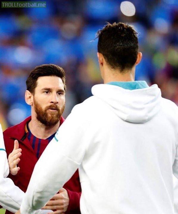 Cr7 and Lionel Messi!❤❤ Legends  ElClasico