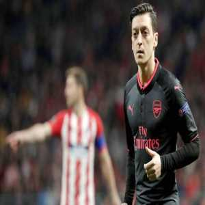 Ozil has a 'reoccurrence of a slight back issue' according to Wenger.