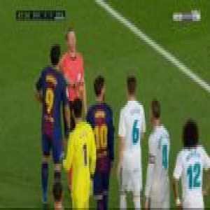 Sergio Ramos and Luis Suarez yellow cards