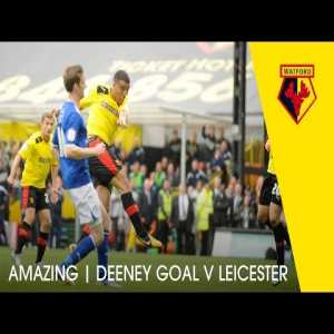 On this day 5 years ago, Watford counterattacked from a Leicester penalty and Troy Deeney scored to send them to the play-off final