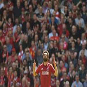 Cristiano Ronaldo. Luis Suarez. Alan Shearer.  Mohamed Salah has surpassed them all...