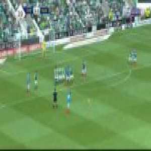 Hibernian 3-[3] Rangers - Bruno Alves free-kick