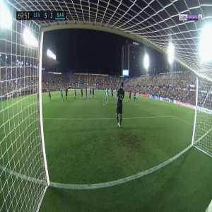 Levante 5-[4] Barcelona - Luis Suarez penalty (+ call)