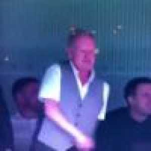Paul Gascoigne's floss celebration after Kane's second goal vs. Leicester City