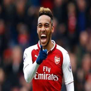 Pierre-Emerick Aubameyang has scored more Premier League goals (10) than Alexis Sanchez and Lukaku combined this year.