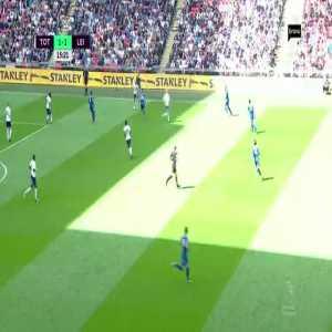 Tottenham 1-[2] Leicester City - Mahrez 16'
