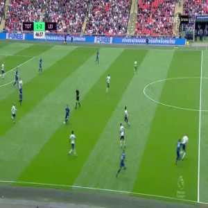 Tottenham 1-[3] Leicester City - Iheanacho 47'