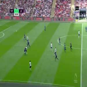 Tottenham [3]-3 Leicester City - Fuchs 53' (Own Goal)