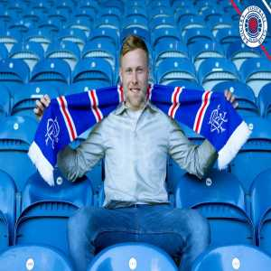 Rangers FC confirm the signing of Scott Arfield from Burnley on a four year deal
