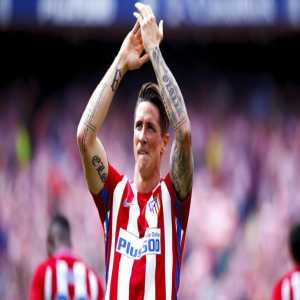 Fernando Torres has now won his first prize with his boyhood club Atletico Madrid in his last ever match for them.