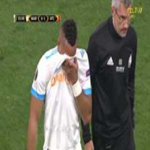 Payet in tears after substitution (injury)