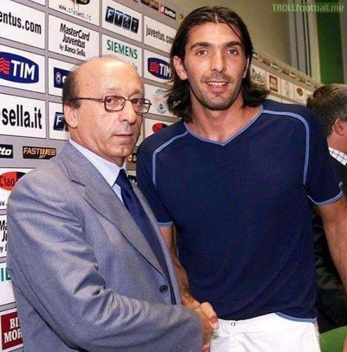 When Gianluigi Buffon signed for Juventus Marcus Rashford was 3, Trent Alexander Arnold was 2, Gianluigi Donnarumma was 1 and Diego Costa was 38...