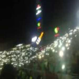 Estadio Corona celebrates Santos' 2-1 win vs. Toluca in the Liga MX Final by turning off the lights in the stadium, turning on their cell phone lights and singing