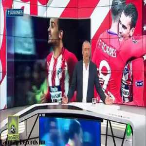 Griezmann requested the change of Fernando Torres in the final