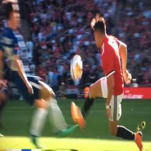 Alexis Sanchez dive against Chelsea