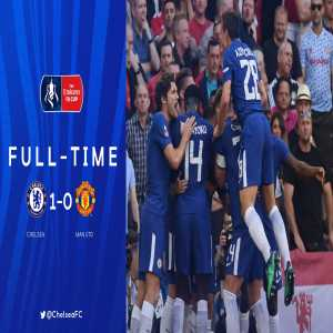 Chelsea are the 2017/2018 FA Cup champions!