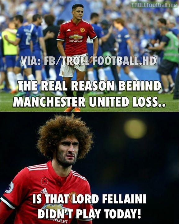 The Real Reason Behind Man UTD Loss..😂