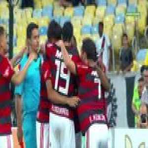 Vinícius Júnior (Flamengo) goal vs. Vasco (1-0) [Brasileirão Série A]