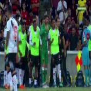 Wagner (Vasco) goal vs. Flamengo (1-[1]) [Brasileirão Série A]