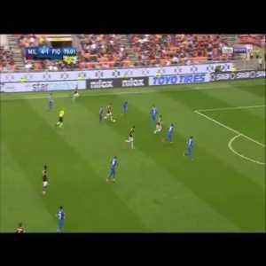 Milan [5]-1 Fiorentina - Bonaventura 76'