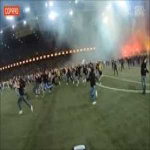 Absolute madness as BSC Young Boys were crowned Champions for the first time in 32 years! 🔥🔥🔥